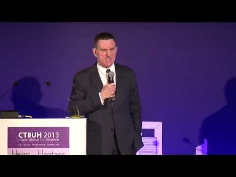 "CTBUH 2013 London Conference - Peter Wynne Rees, ""City Planning and Tall Buildings"""