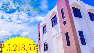 AFFORDABLE RENT TO OWN TOWNHOUSE in tanza , cavite @ casa amaya