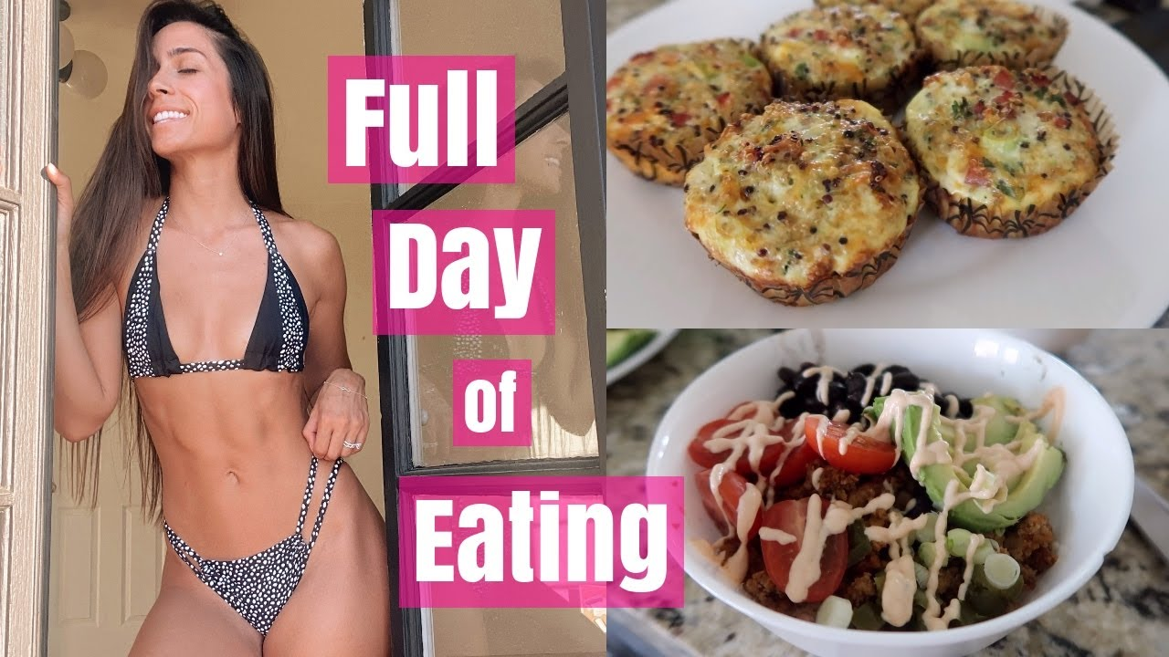 What I Eat in a Day   Weekly Meal Prep