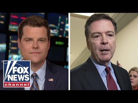 Gaetz shares what he learned from the Comey hearing
