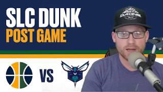 Utah Jazz vs Charlotte Hornets: Post Game Reaction - Kemba Walker puts the Jazz away late