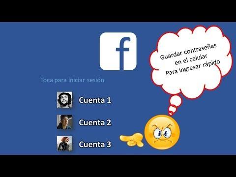 Como Iniciar Sesión Con Foto De Perfil En Facebook Desde El Celular [2019] 😱😱😱