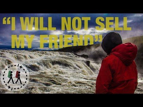 "Iceland:  ""I will not sell my friend"" - The Largest Waterfall"