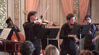 Bach Violin Concerto for 2 violins Francisco Henriques Daniel Gandra Camerata Gareguin Aroutiounian
