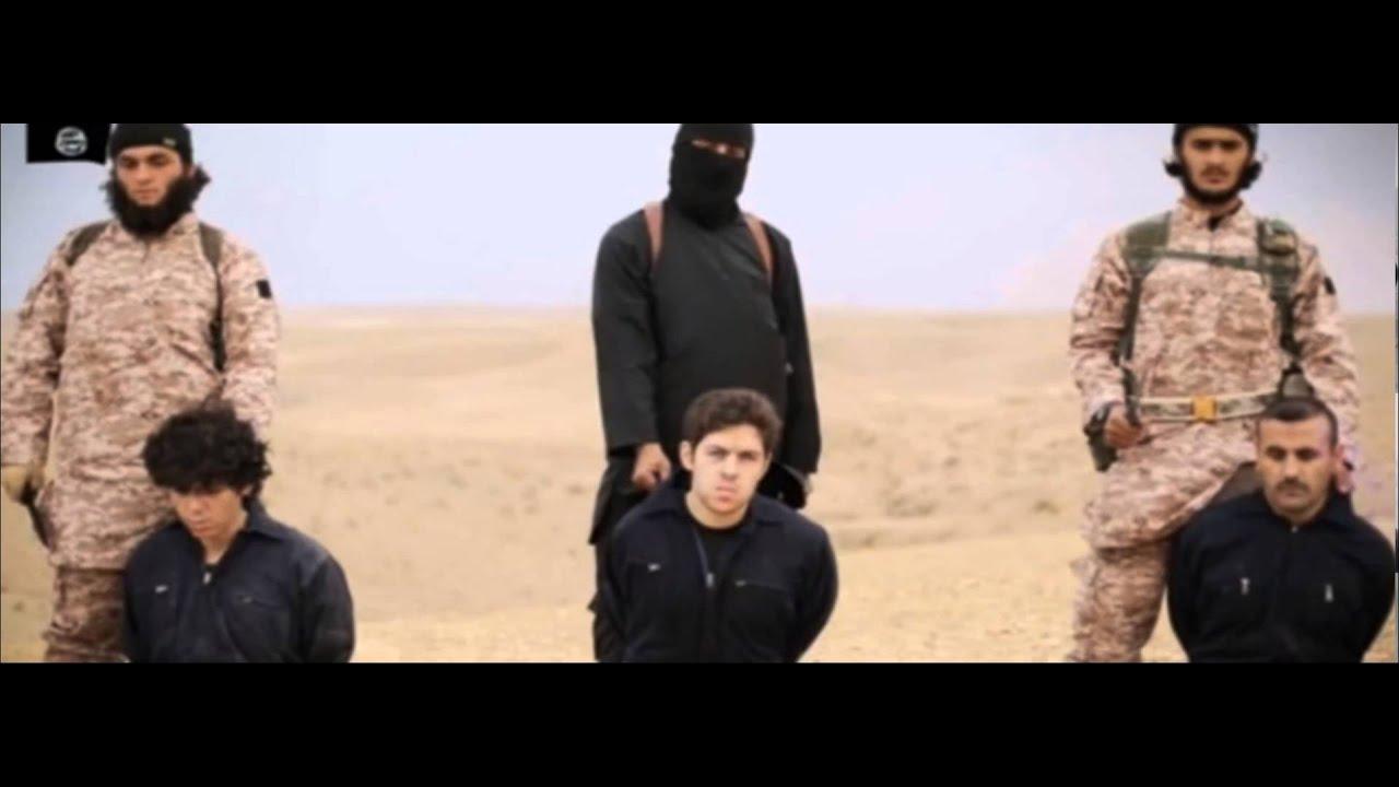 ISIS difunde video decapitacion masiva Estado Islamico - YouTube