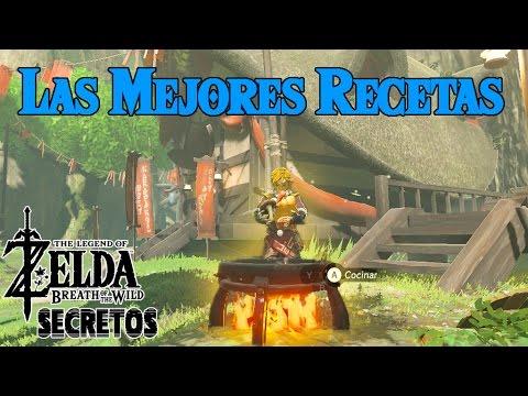 Secretos y Trucos de Zelda Breath of the Wild #37   Las mejores recetas del juego