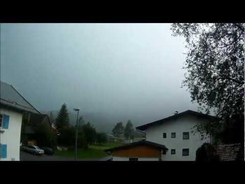 Blitzeinschlag in Weissenbach am Lech