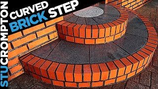 BRICKLAYING Curved Brick Step Design