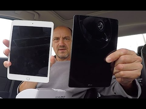WHICH TABLET? Apple IPad Mini 4 Wi-Fi Or LG Pad III 8.0 FHD LTE?