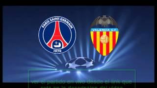 valencia vs paris  ver partido en vivo-onlie 12/02/2013 champions league
