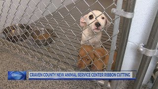 Ribbon cutting for new animal service center