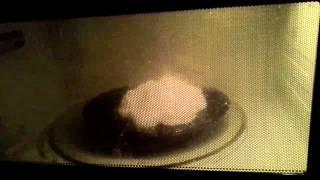 Dove Soap in Microwave