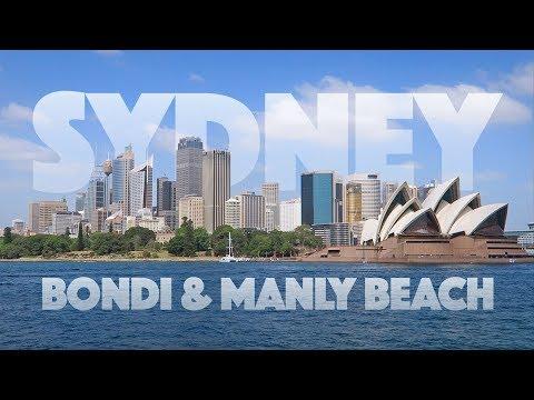 Praias de Sydney - Bondi e Manly Beach - vlog de viagem na Australia - Ep.02