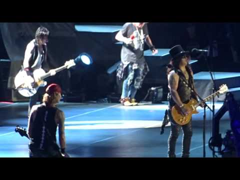 Guns N` Roses Slash – YESTERDAYS Live Los Angeles Dodger Stadium 19. August 2016