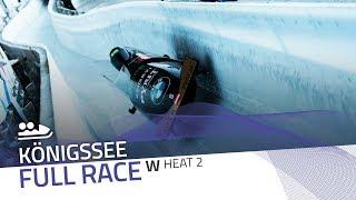 KÖnigssee | BMW IBSF World Cup 2019/2020 - Women's Bobsleigh Heat 2 | IBSF Official