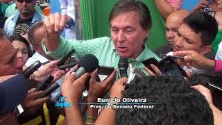 Encontro PMDB em Massapê - Senador Eunício Oliveira