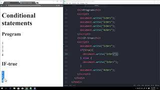 WEB2 JavaScript - 16.조건문