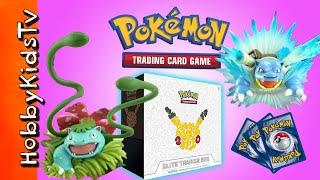 Pokemon Elite Trainer Opening by HobbyKidsTV