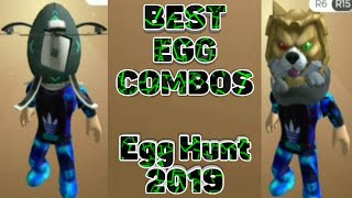 Best Roblox Egg Hunt 2019 Egg Combos!