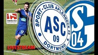 Spitzenspiel ASC 09 Dortmund vs. FC Schalke 04 II