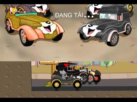 Đua xe Oto cùng Tom va Jerry – Clip hay cho bé | Game Đua Xe