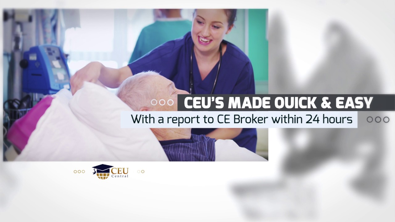 ceu in nursing Nursing school is a difficult experience for many and the mere thought of any  continuing education course is enough to make some nurses shudder however .