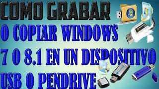 Grabar Windows 7/8.1/10 En Una USB Booteable-Solución Error[the Select File is not valid ISO]