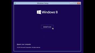 Windows 8.1 | Install OS