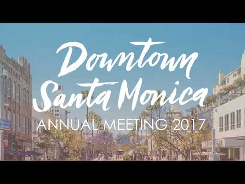 Santa Monica City Manager Rick Cole, DTSM Annual Meeting, Aug. 31, 2017