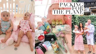 PACKING FOR OUR TWIN GIRLS 2ND TRIP!👨‍👩‍👧‍👧 SLMissGlamVlogs
