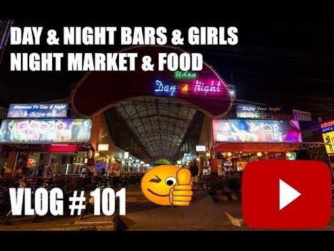 Day & Night Bars Girls and Night Market Udon Thani Thailand