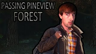 Passing Pineview Forest |Indie Horror Game (Ending) - EVEN THE TREES ARE SCARED!