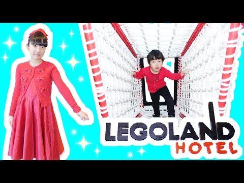 ★「室内アスレチック~!」レゴランド®・ジャパン・ホテル★LEGOLAND® Japan Hotel ★