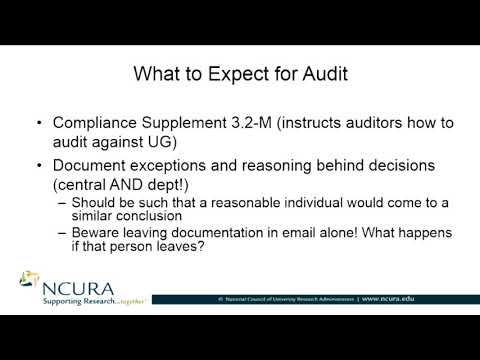 Managing Subawards: What to Expect for Audit