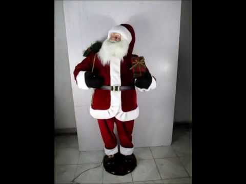 60inch Dancing Santa with or without Karaoke