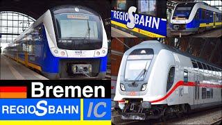 IC, Regio S Bahn in Bremen