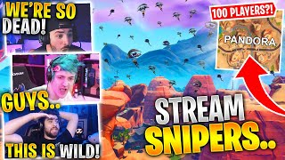 100 Players Landed Pandora?! This Is INSANE! Ft. Ninja, SypherPK, & Fear