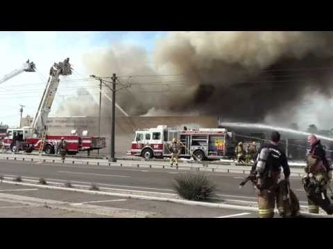 Second Alarm Working Fire 29th Street and Washington (Phoenix, AZ)