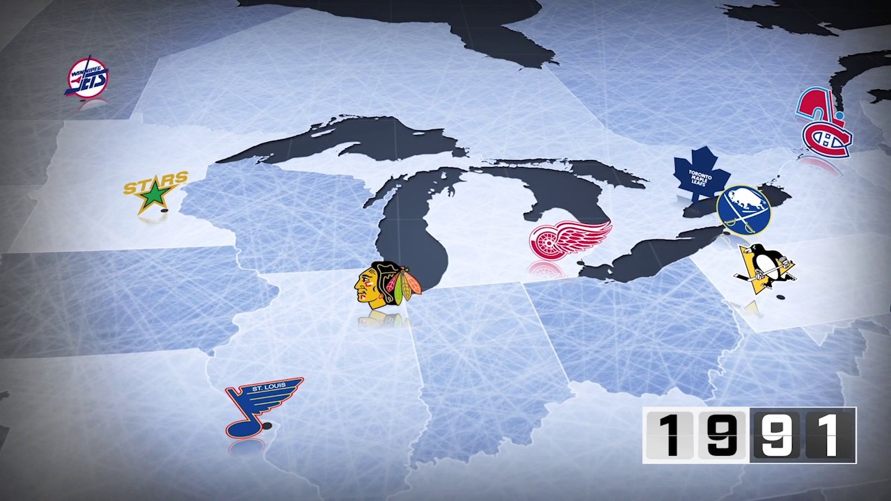 Watch The Expansion Of The Nhl Through The Years Youtube
