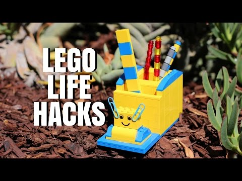 LEGO LIFE HACKS - Easy DIY LEGO Ideas - It's a LEGO Life