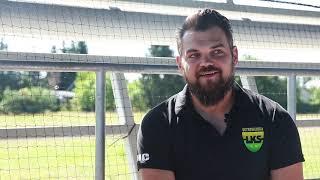 Ludzie sportu #2 | Trener koszykówki MKS Ostrowianka - Michał Chojnowski