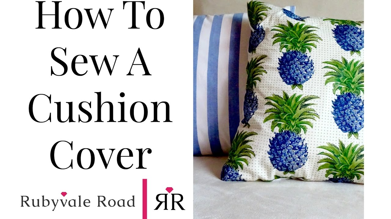 How To Make Easy Washable Cushion Covers Diy Throw Cushions