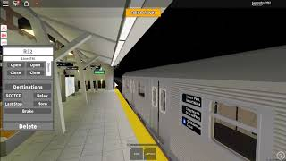 Roblox: Subway Train Simulator Conduciendo R32 Un Tren Desde Park Place a Coney Island S2 E03