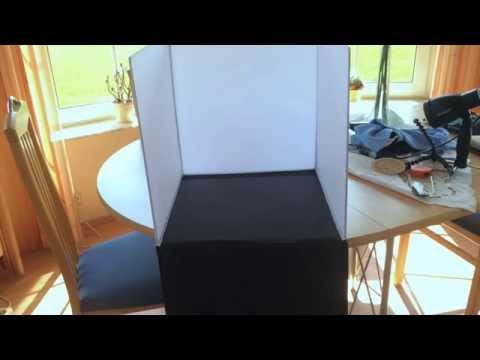 somikon mega fotostudio bundle 80x80x80cm doovi. Black Bedroom Furniture Sets. Home Design Ideas