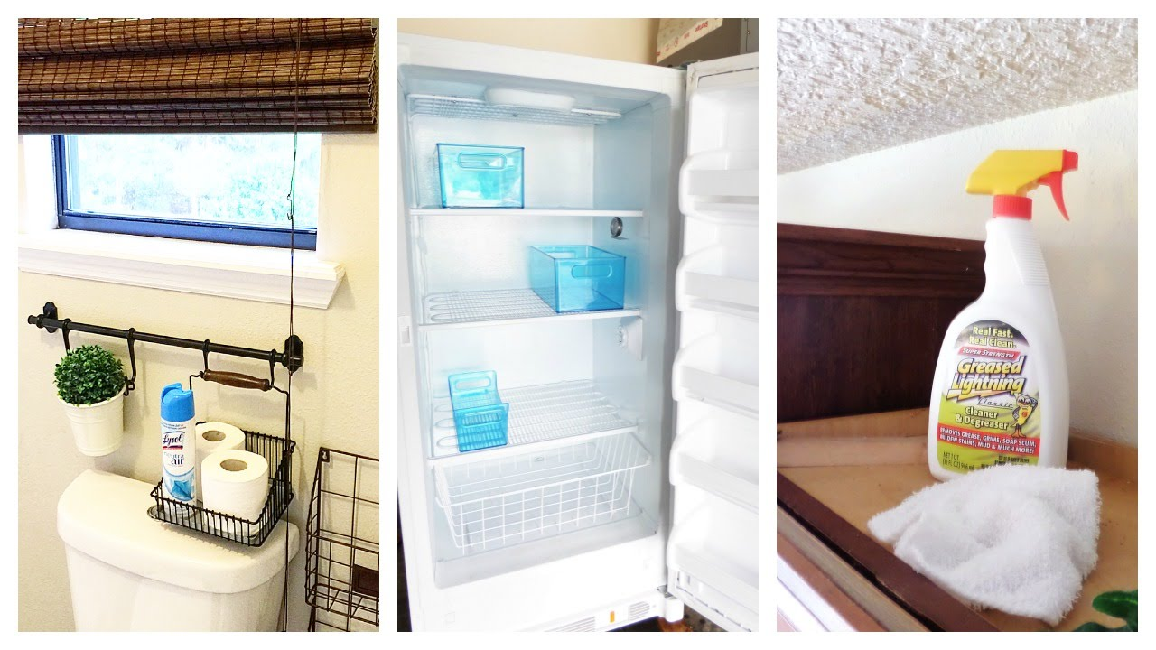 5 Cleaning Tips | Greasy Cabinets + Range Hoods + Mold + More ...