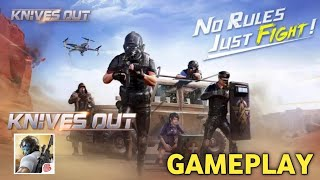 Knives Out Gameplay,Knives Out-No rules, just fight | How to Play Knives Out Game, screenshot 5