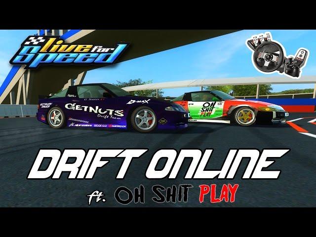 Live For Speed - DRIFT ONLINE ft. Dooug #OhShitPlay G27