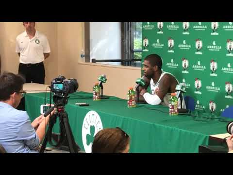 """Kyrie Irving on LeBron James: """"It"""