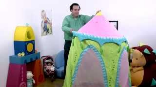 Haba Usa – Play Tent Folding Demo