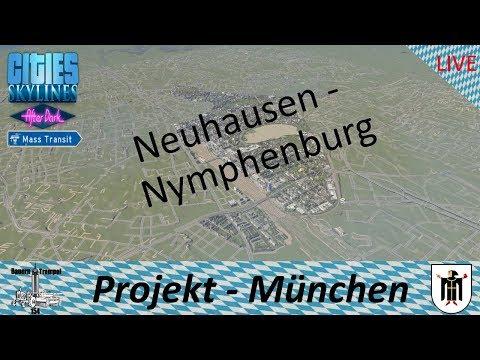 Cities Skylines - Projekt München - Neuhausen Nymphenburg